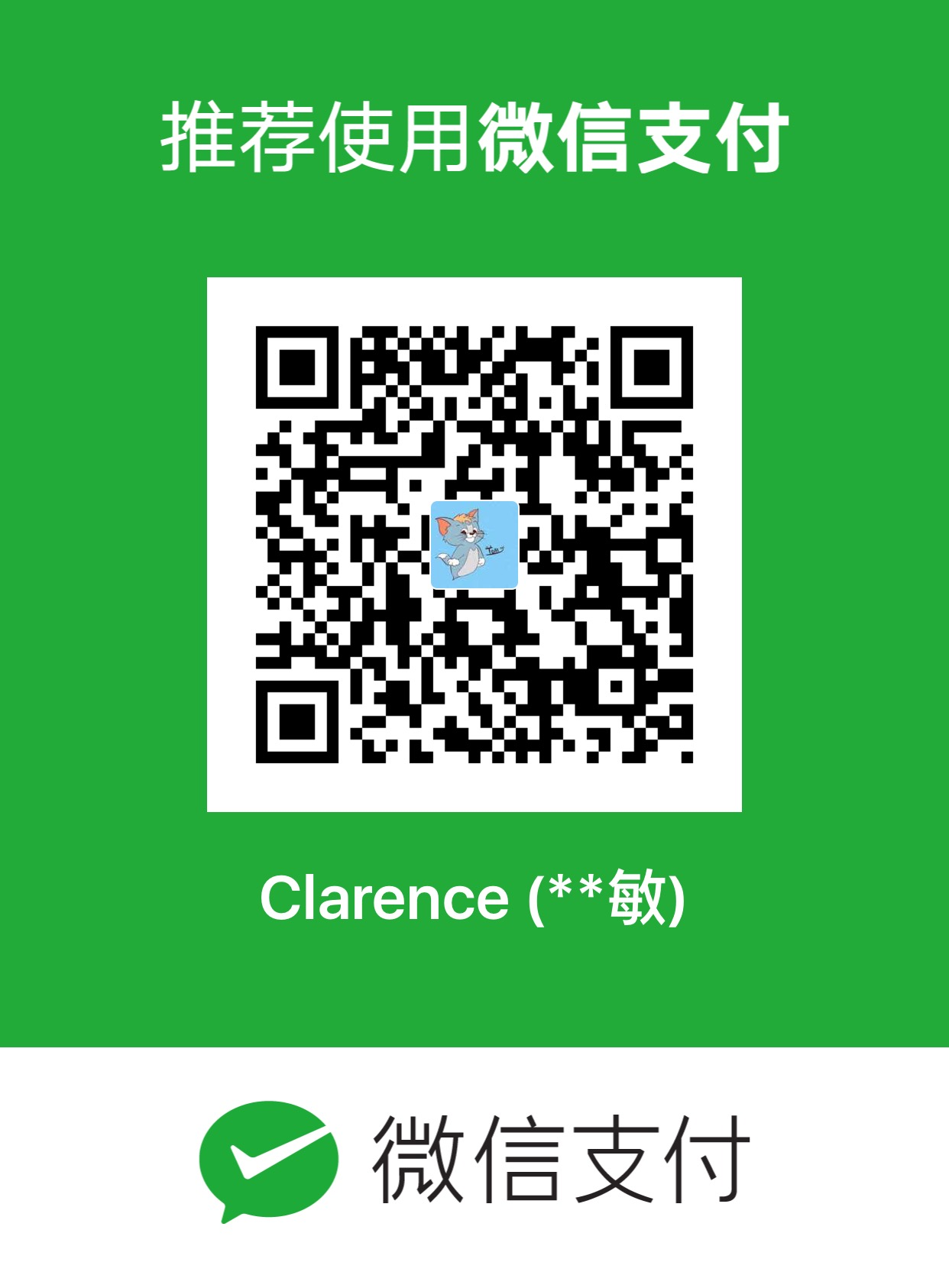 ClarenceChen WeChat Pay